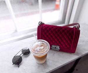 chanel, fashion, and coffee image