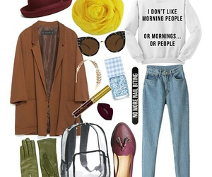 crazy, fashion, and outfit image