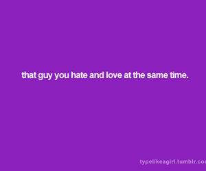guy, hate, and text image