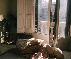 bedroom, vintage, and indie image