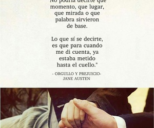 love, jane austen, and orgullo y prejuicio image