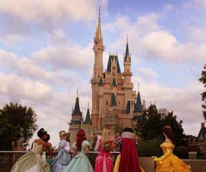 disney, princess, and castle image