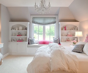white, nice, and pink image