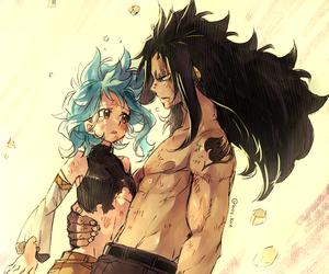 fairy tail, gale, and levy mcgarden image