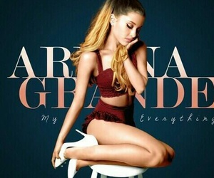 ariana grande and my everything album image