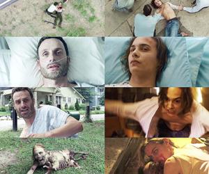 the walking dead, ftwd, and twd image