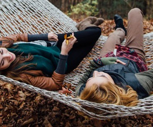 autumn, fall, and girls image