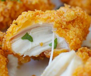 yummy and chicken nuggets image