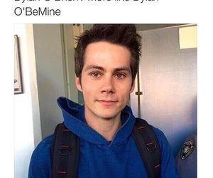 dylan o'brien and mine image