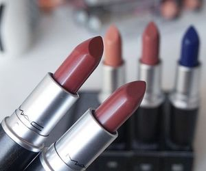 mac, lipstick, and fashion image
