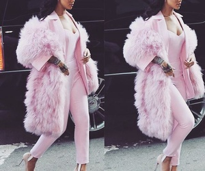 pink, rihanna, and fashion image