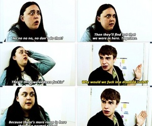my mad fat diary, lol, and finn image