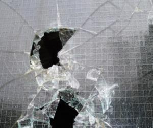glass, broken, and grunge image