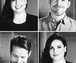 lana parrilla, sean maguire, and ouat cast image