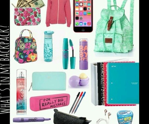 school and backpack image