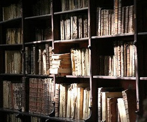 antique, books, and old image