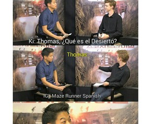 maze runner, correr o morir, and scorch trials image