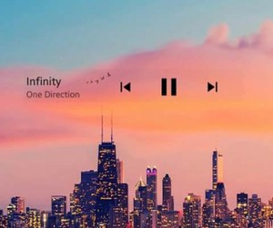 infinity, music, and one direction image