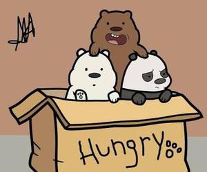 bear, we bare bears, and hungry image