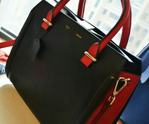 bags, celine, and red image