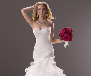 cheap wedding dresses, ball gown wedding dresses, and ivory wedding dresses image