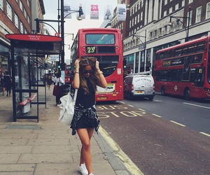 girl, london, and style image