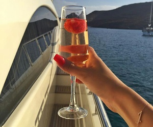alcohol, champagne, and luxury image