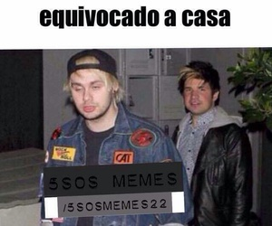 5sos, funny, and meme image