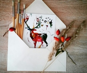 Letter, mywork, and colour image