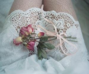 feminine, tumblr, and flowers image
