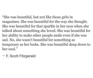beautiful, quote, and gatsby image