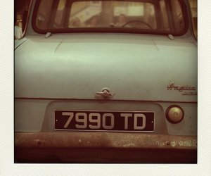 car, ford anglia, and harry potter image