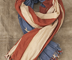 american, fashion, and scarf image