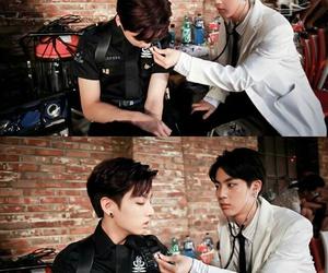 jungkook, jin, and bts image