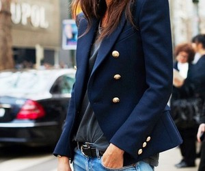 fashion, blazer, and style image