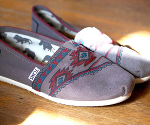 toms, shoes, and hipster image