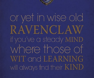 harry potter, quote, and ravenclaw image