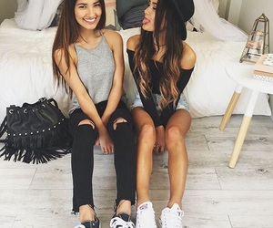 girl, friends, and best friends image