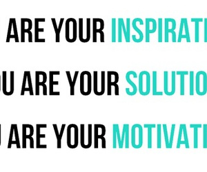motivation, inspiration, and solution image