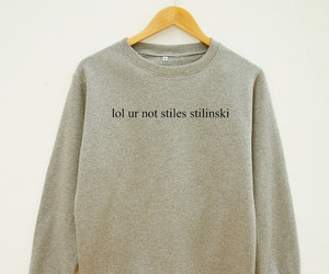 sweater, lol, and not image