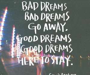 good, concert, and dreams image