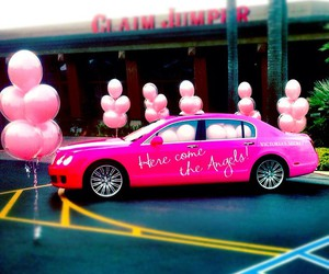 pink, victorias secret, and pinkcar image