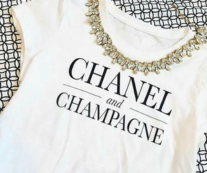 chanel, fashion, and champagne image