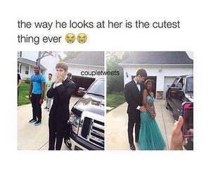 couple, homecoming, and look image