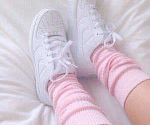 pink, white, and shoes image