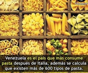 pasta, venezuela, and ¿sabias que? image