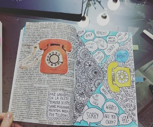 phone, wreck this journal, and creativo image