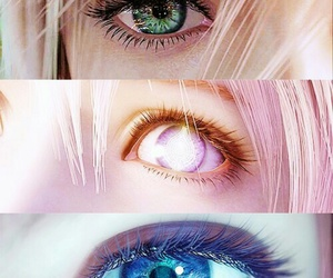 eyes, final fantasy, and lightning image