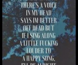 bmth, happy, and song image