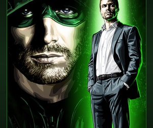 arrow, oliver queen, and sthephen amell image